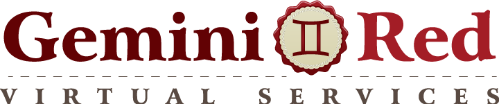 GeminiRed Virtual Services is officially up and running!